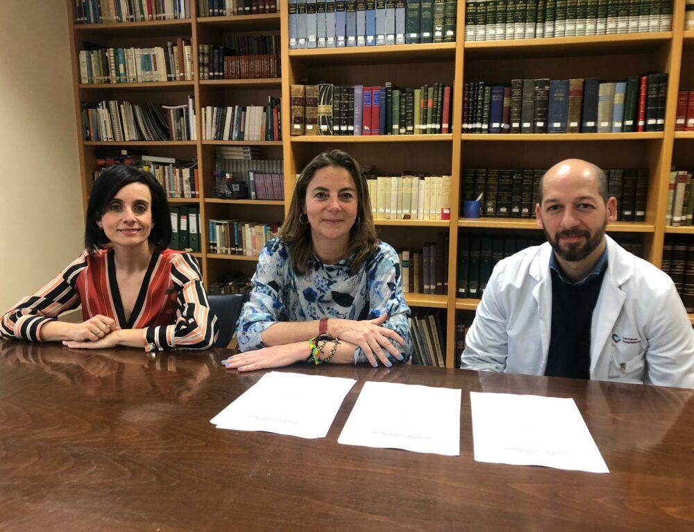 Convenio marco de colaboración con el hospital Beata María Ana