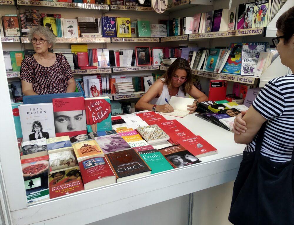 Los años del monzón en la Feria del libro de Madrid.