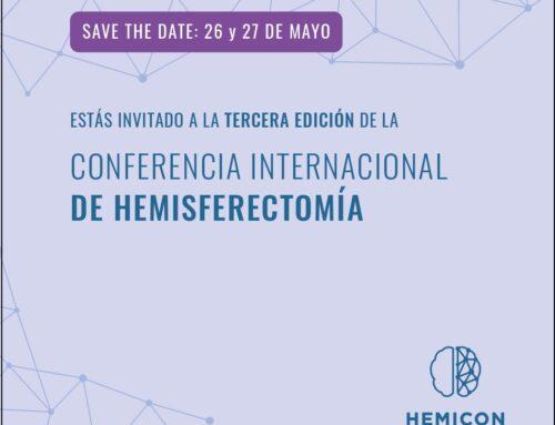 26 y 27 de mayo. HEMICON Barcelona 2021 WEBINAR: TERCERA CONFERENCIA INTERNACIONAL SOBRE HEMISFERECTOMÍA.